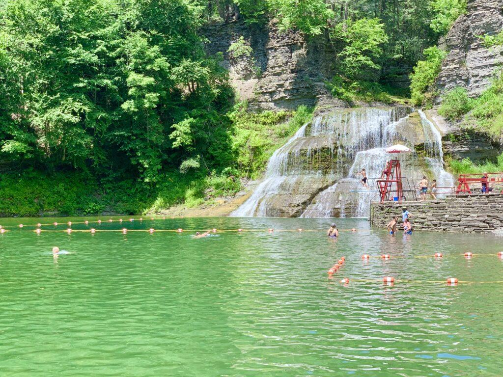 Robert Treman Swimming Lake