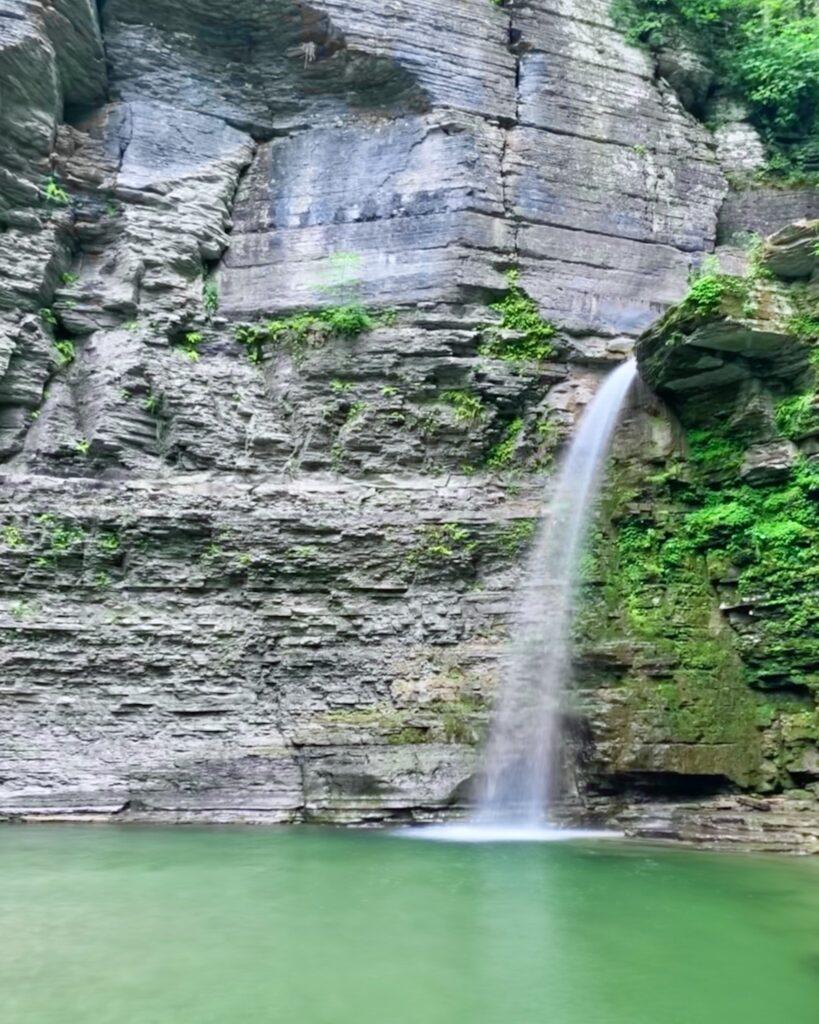 Eagle Cliff Falls at Havana Glen Park