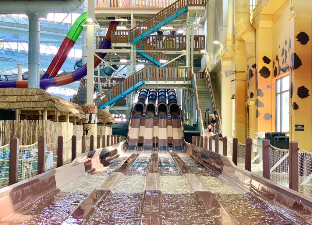 Kalahari Resort Mat Racer Slide