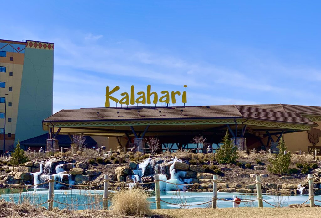 Kalahari Resort Entrance