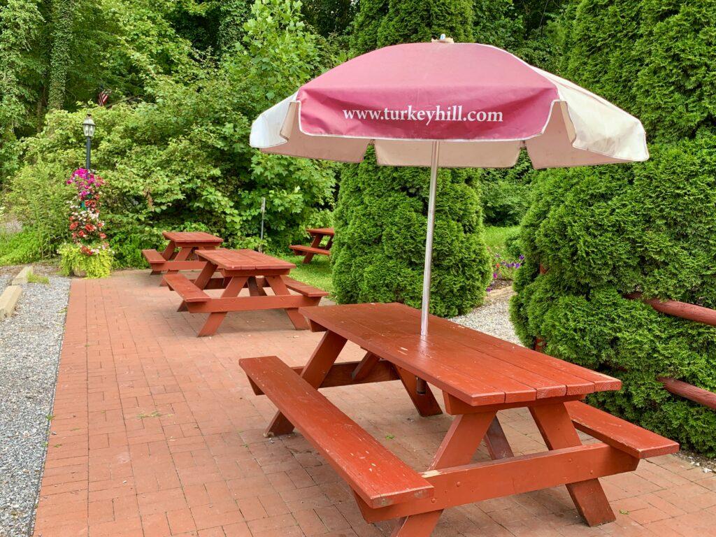 The Pretzel Hut Outdoor Seating