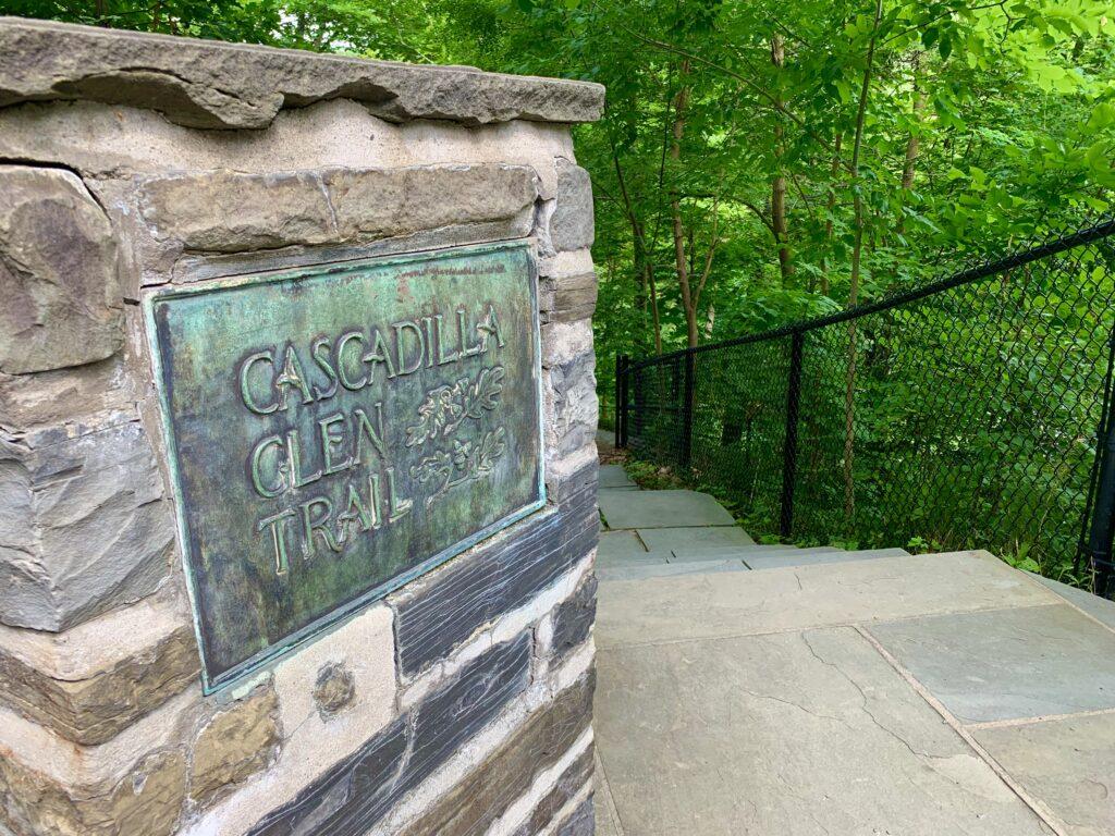 Cascadilla Gorge Trail Entrance