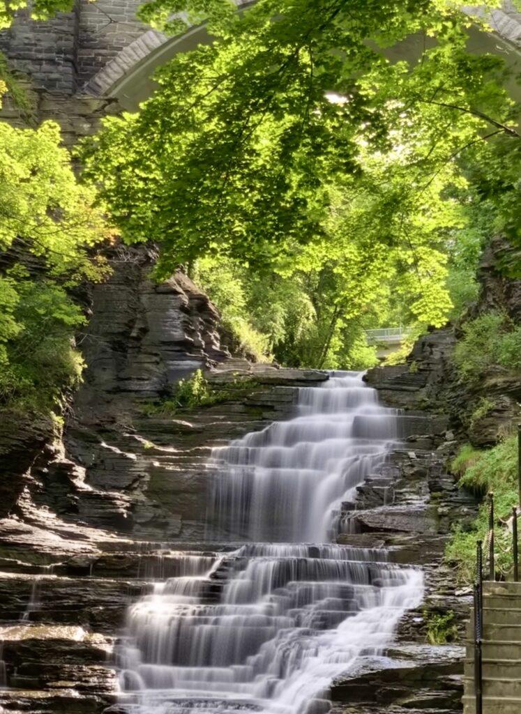 Cascadilla Gorge Waterfall