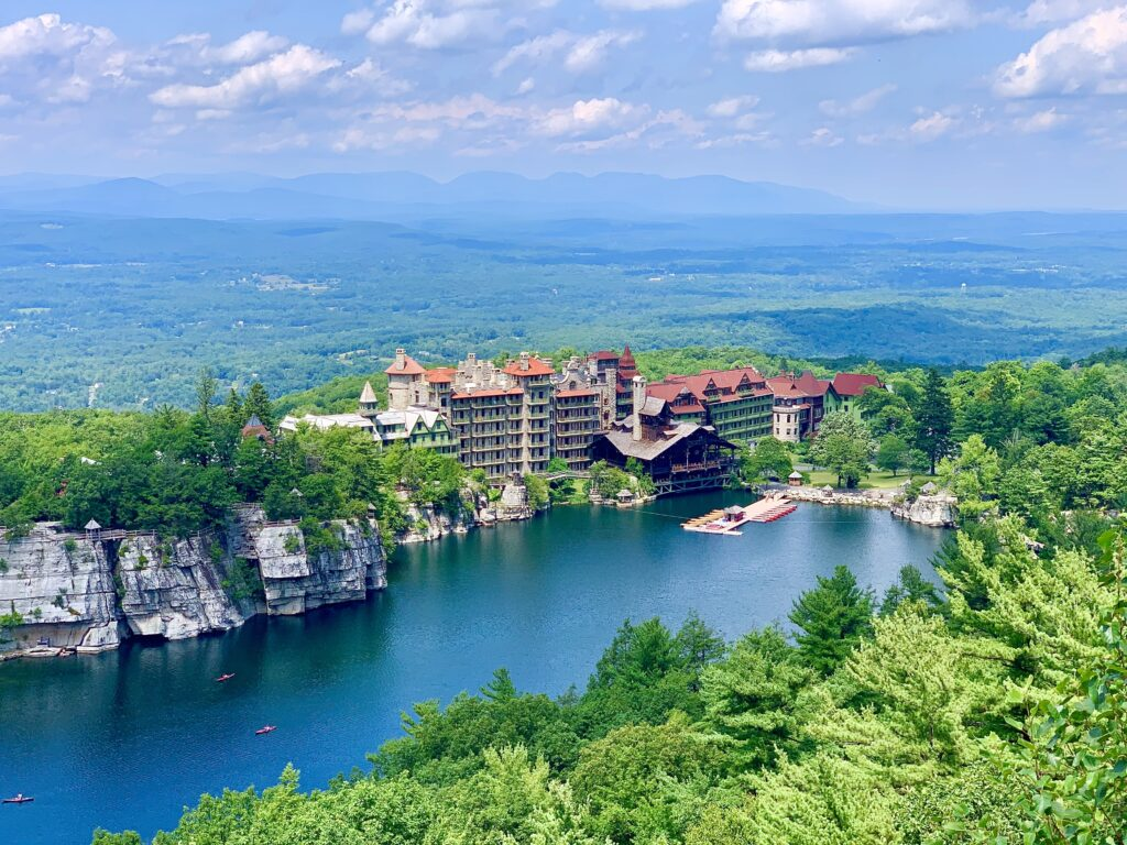 Mohonk Mountain House Sky Top Path View