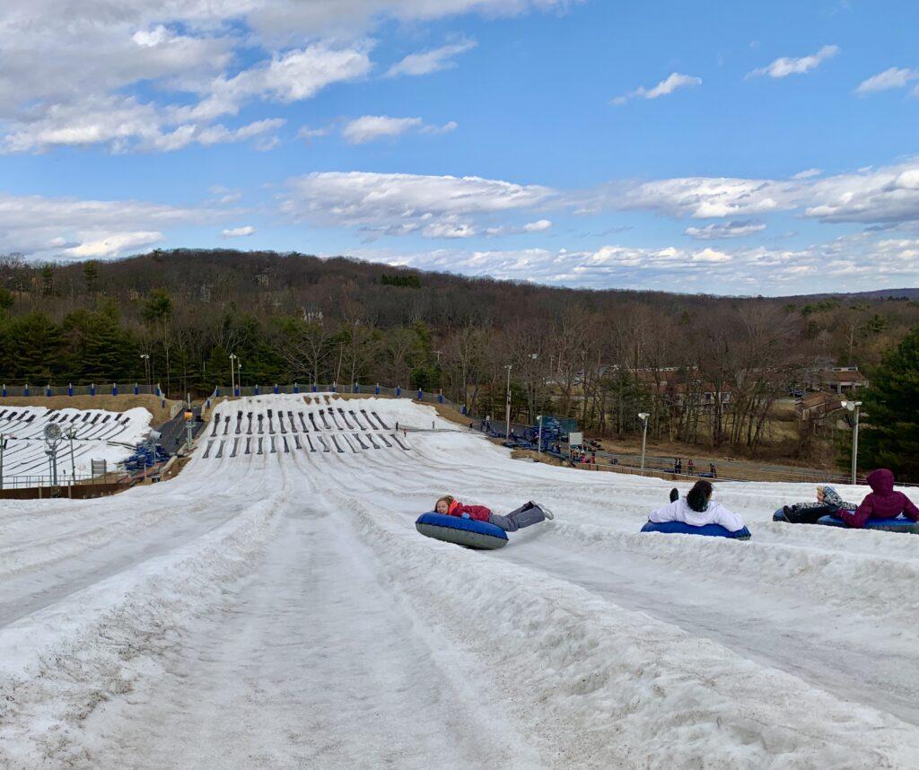 Camelback Mountain Resort Snow Tubing Hill