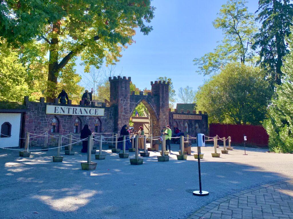 PA Renaissance Faire Front Gate