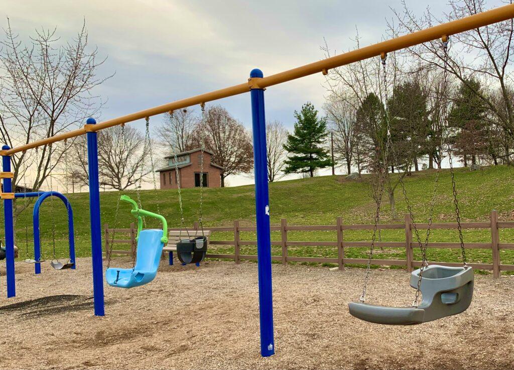 Adams Ricci Park Swings