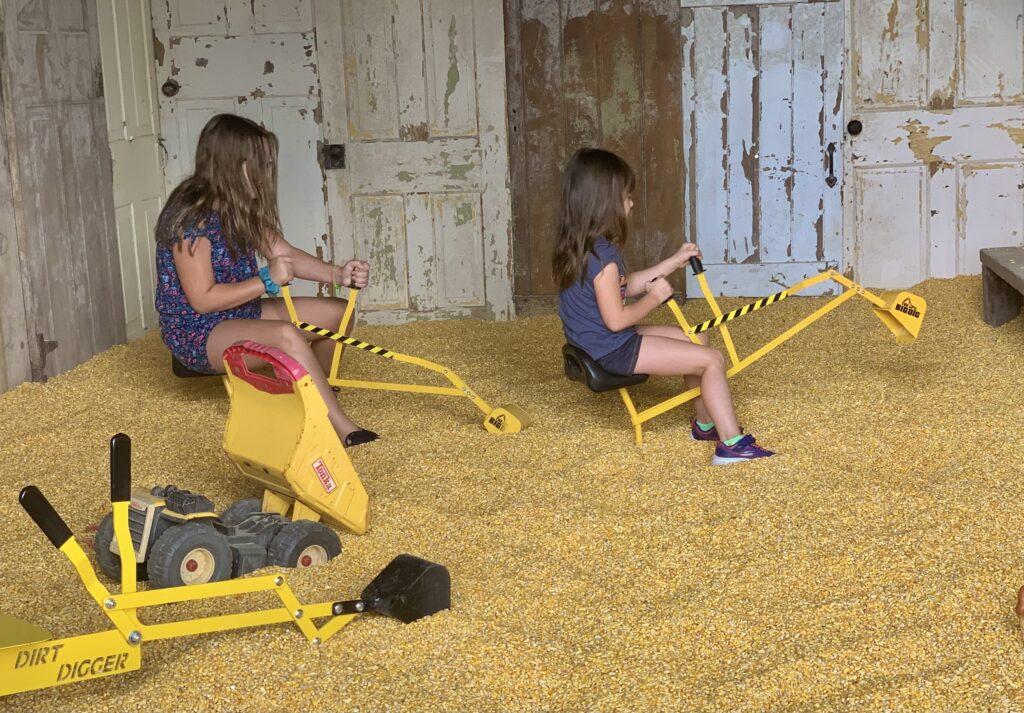 Old Windmill Farm Corn Bin