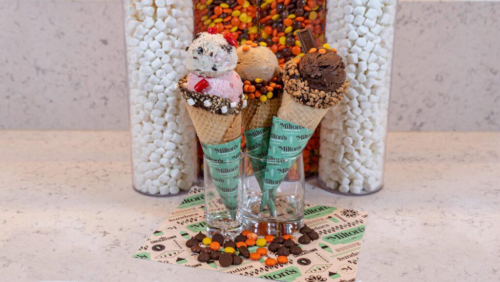 Milton's Ice Cream Parlor Treats