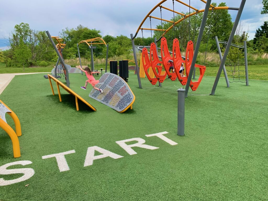 Blandair Park Course Start