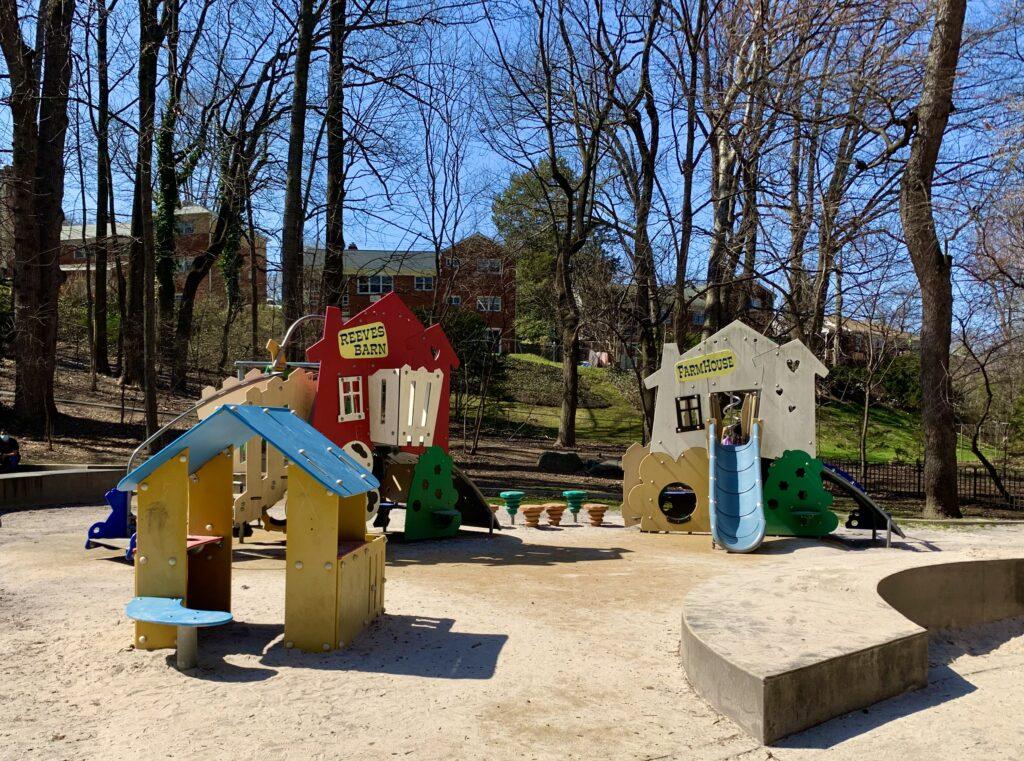 Bluemont Junction Park Toddler Playground