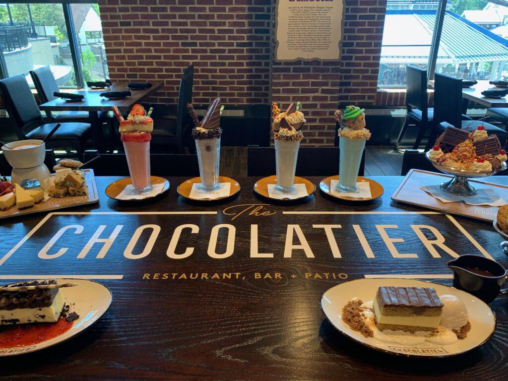 Chocolatier Desserts
