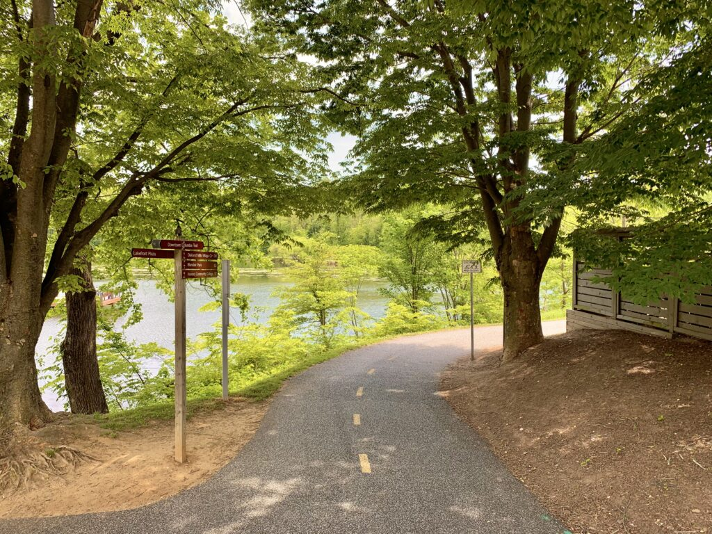 Columbia Lakefront Walking Path