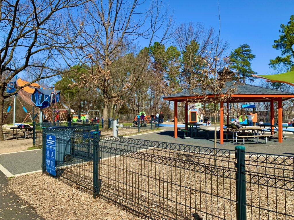 Fairlington Park Playground Entrance