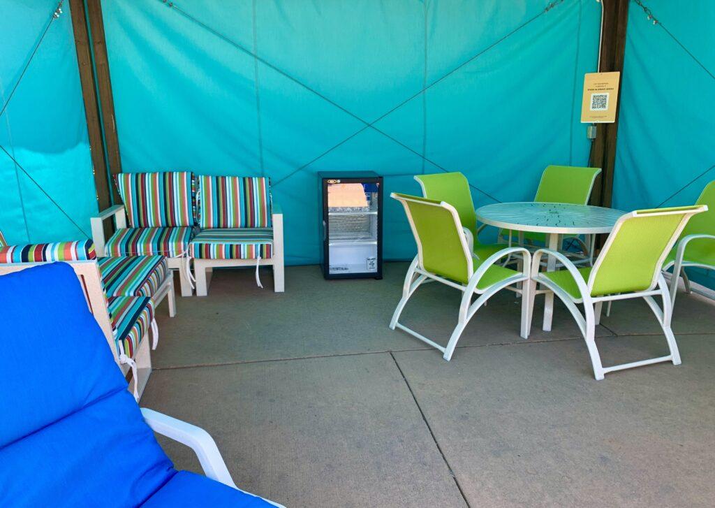 Camelback VIP cabana