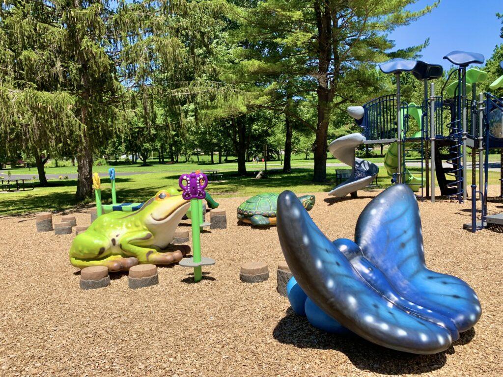 Covered Bridge Toddler Playground