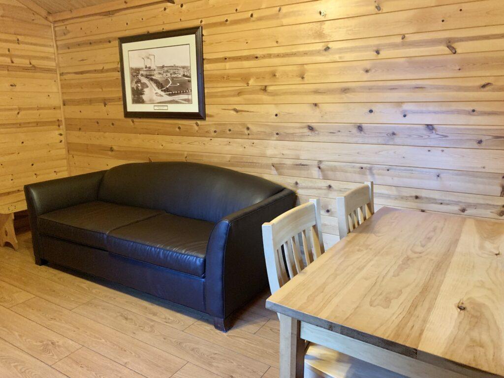 Hersheypark Camping Resort Cabin Living Room