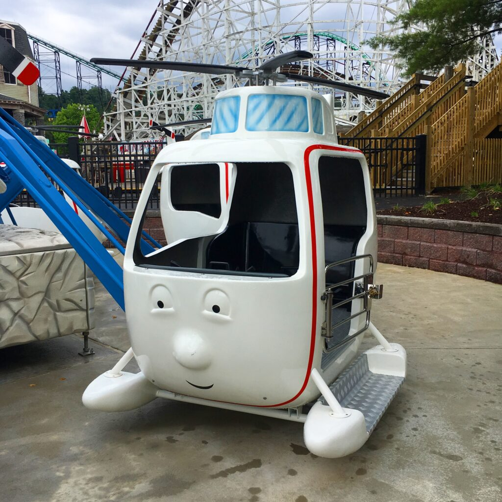 Harold's Helicopter Tour