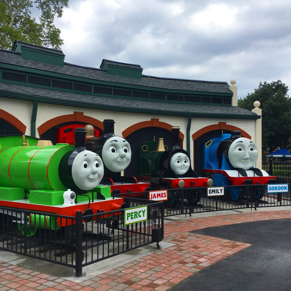Thomas Town at Kennywood