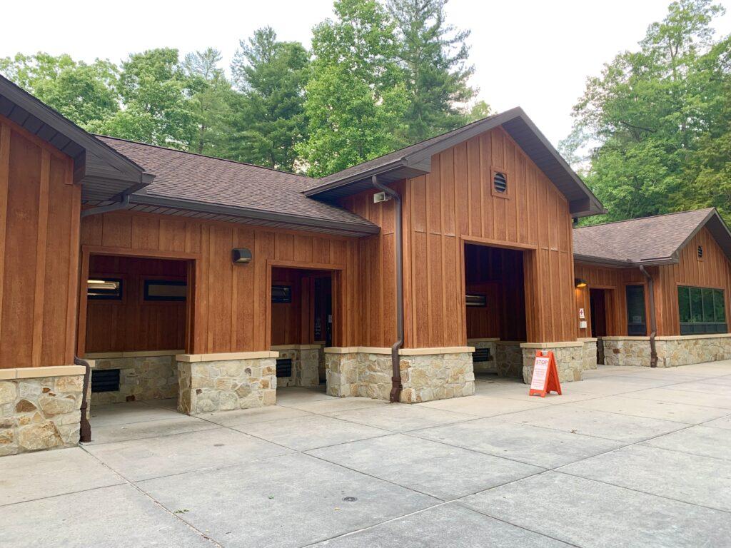 Snack Bar and Restrooms at Laurel Lake