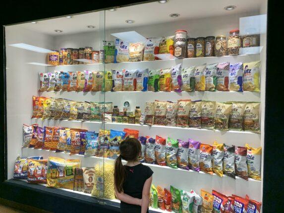UTZ Factory Snack Display