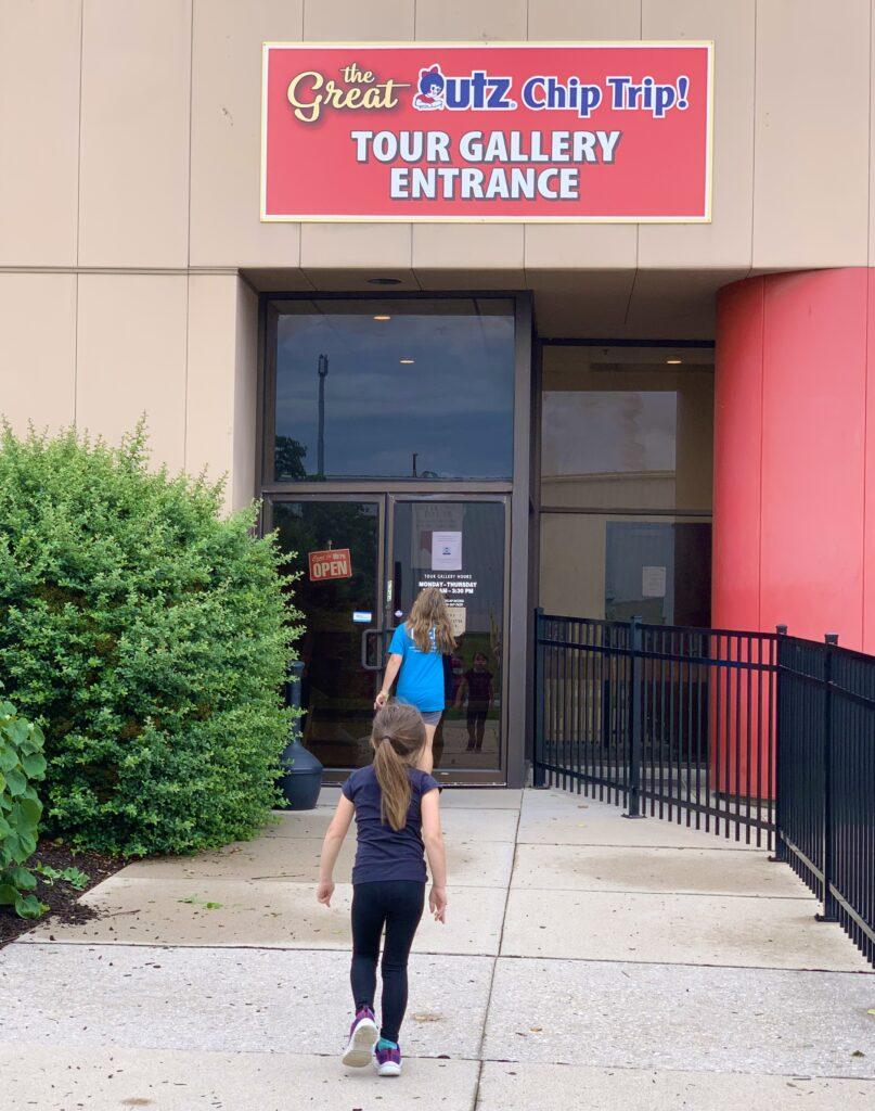UTZ Factory Tour Entrance