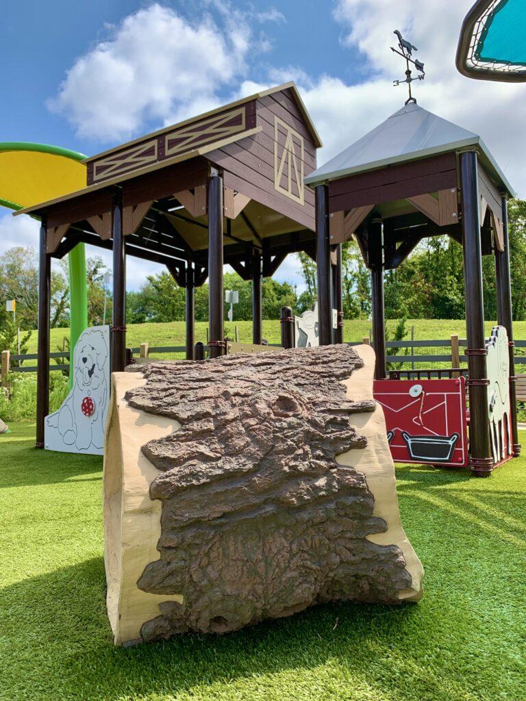 Farm-themed Play Area at Blandair Park