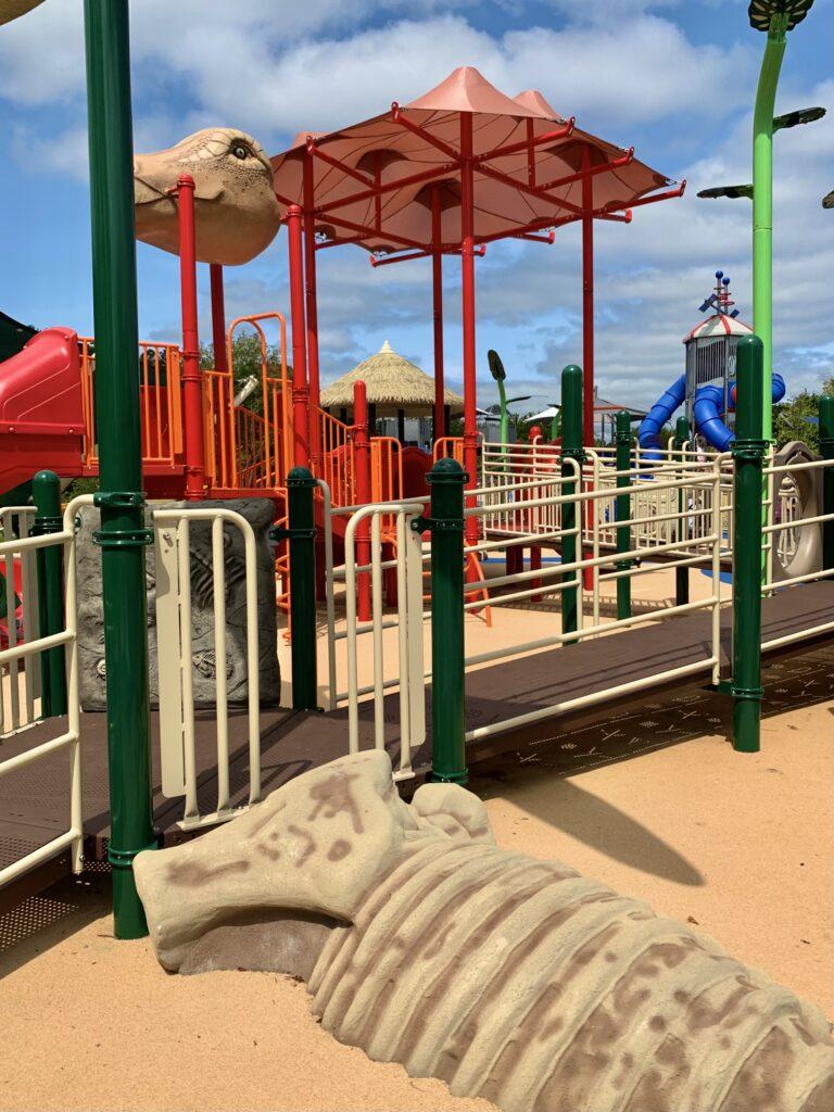 Dinosaur Area at Blandair Park