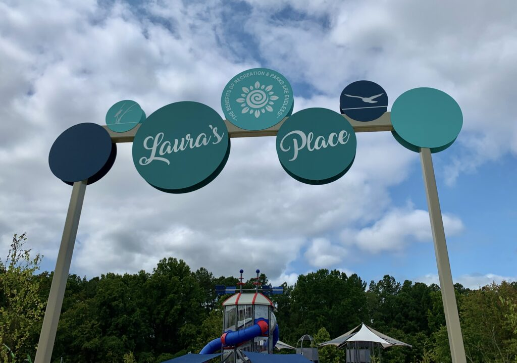 Laura's Place Playground Entrance