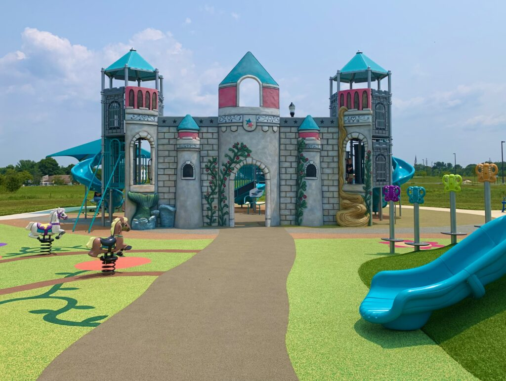 Front of Playground