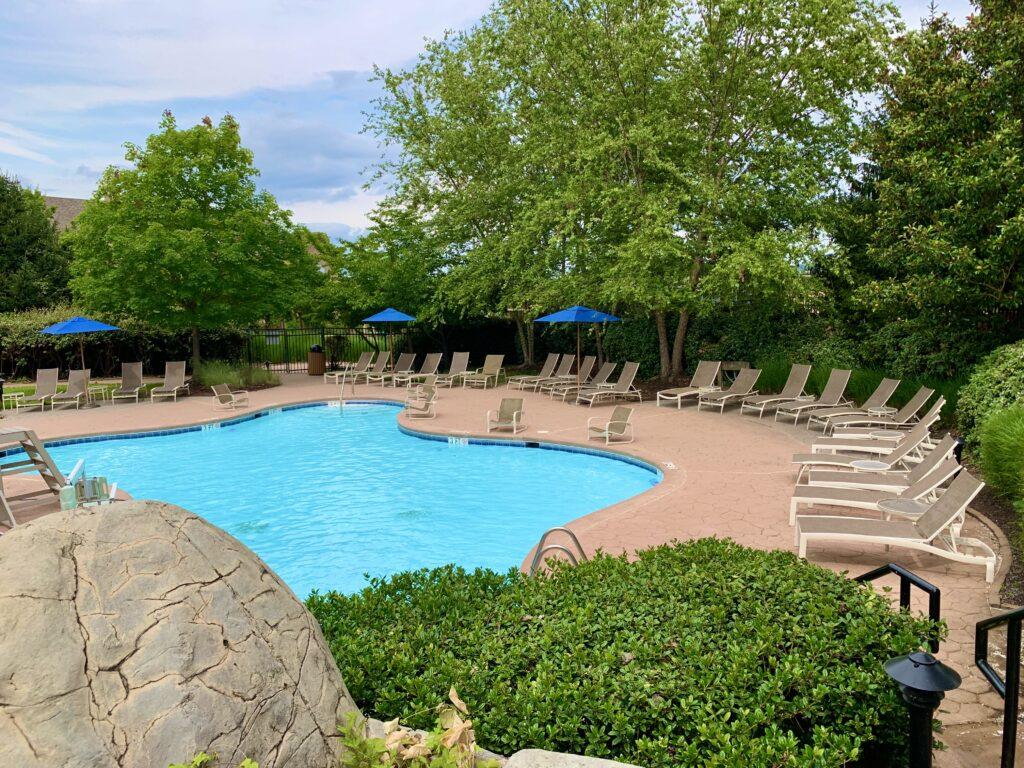Lansdowne Resort Waterfall Pool