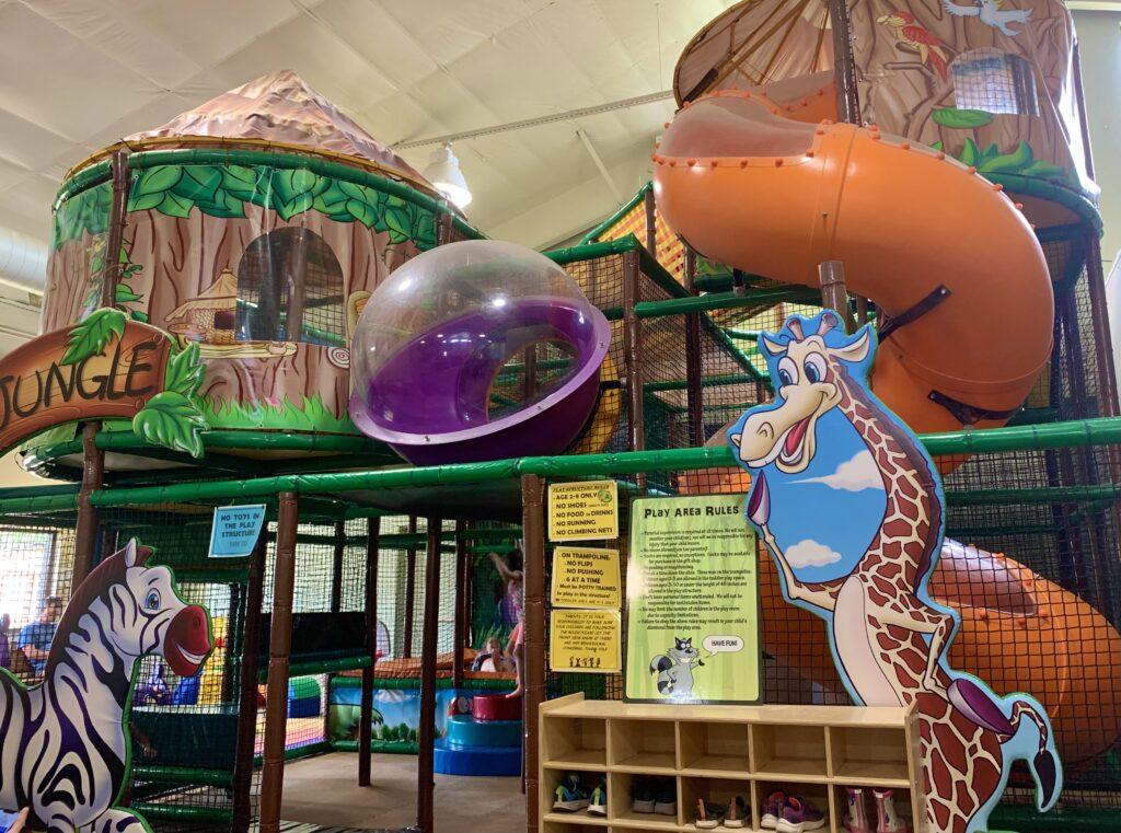 Leesburg Animal Park Play Area