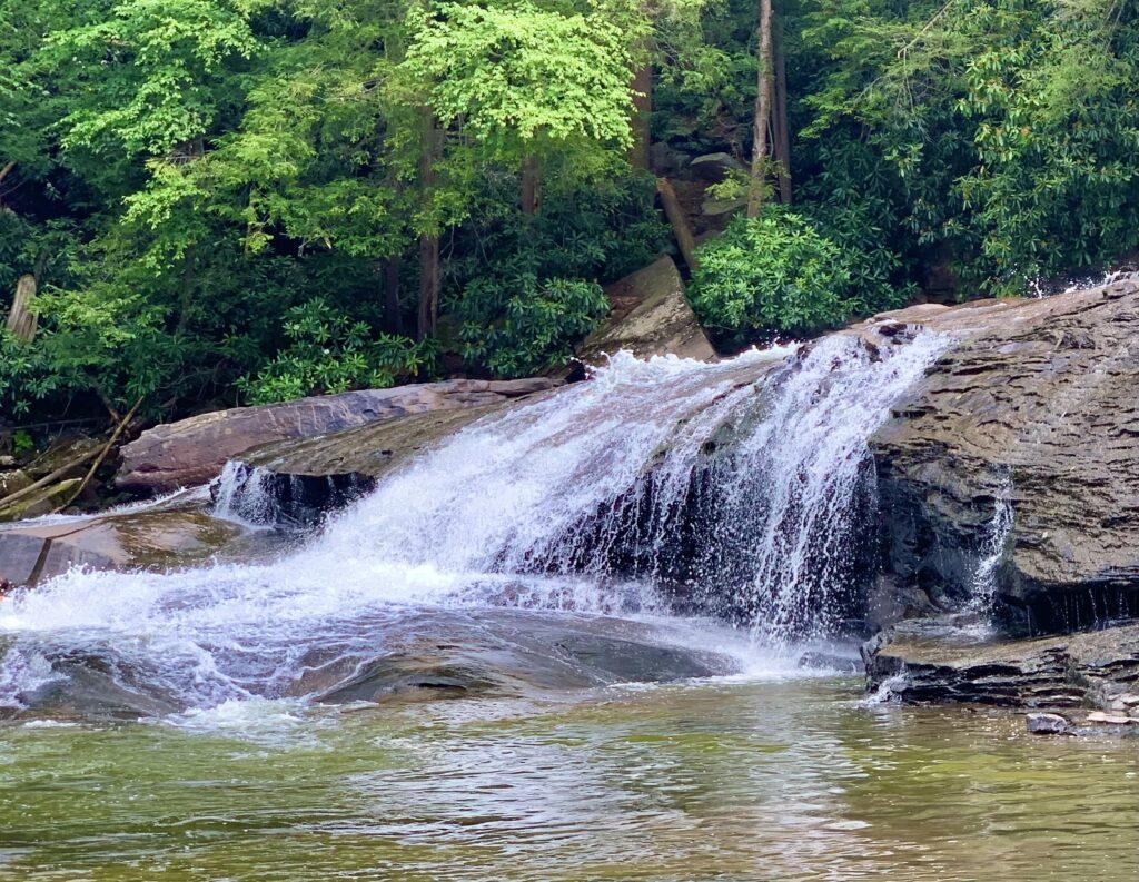Swallow Falls State Park Waterfall
