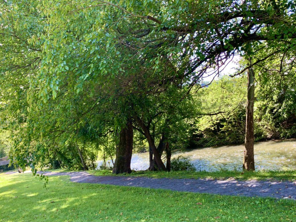 Canal Basin Park Walking Path