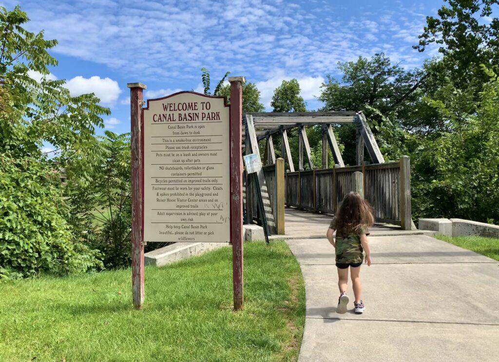 Canal Basin Park Entrance