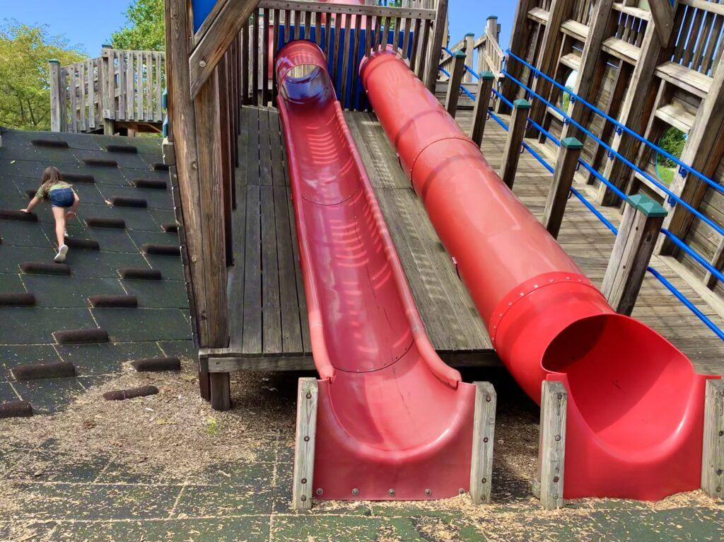 Canal Basin Park Slides