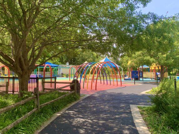 Clemyjontri Park Playground Entrance