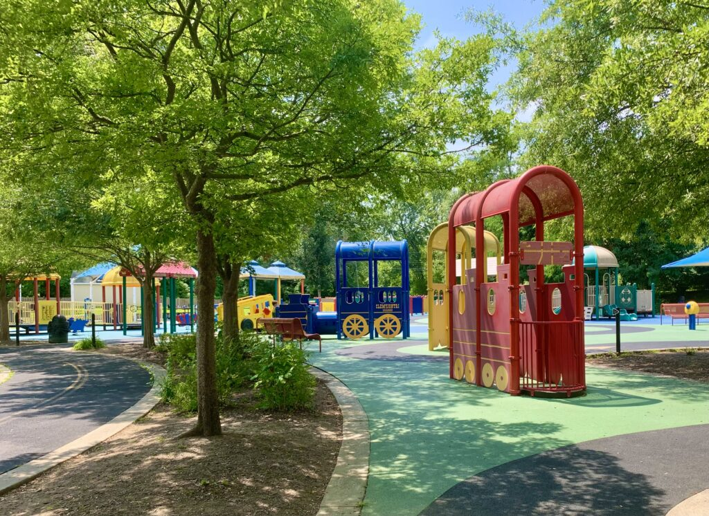 Clemyjontri Park Train Playground