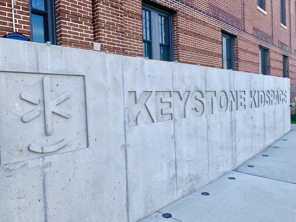 Keystone Kidspace Sign
